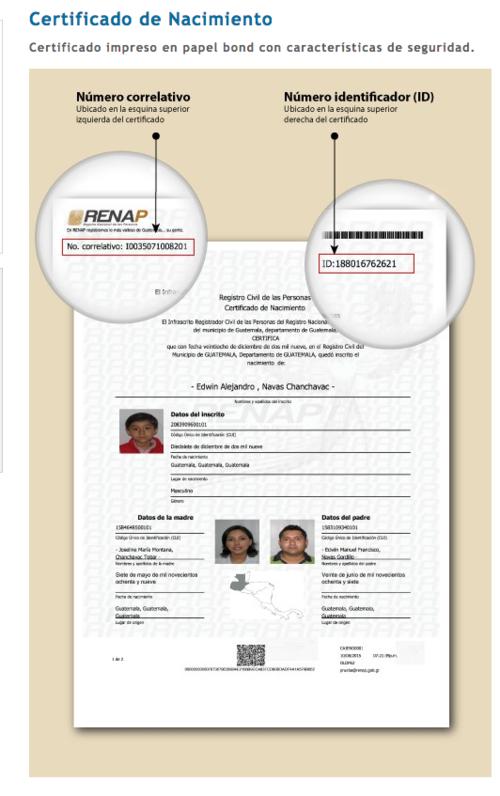Evita las colas: obtén en línea tus documentos del Renap | Soy502