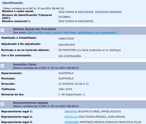 El abogado Juan Manuel Diaz-Durán ha sido beneficiado con contratos del Estado.