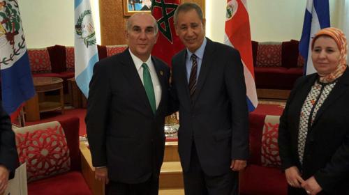 El presidente del Congreso, Mario Taracena, estuvo en México y Marruecos este año. (Foto: Archivo/Soy502)