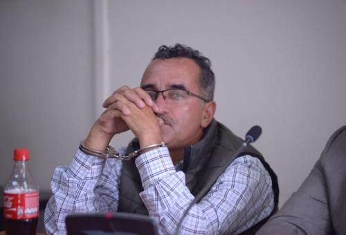 Edgar Leonel Fernández fungía como asistente de Boussinot y era encargado de recaudar las comisiones de los empleados. (Foto: Jesús Alfonso/Soy502)