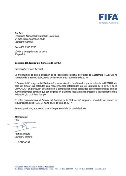FIFA caso Guatemala foto