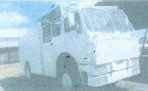 Esta es una de las fotografías que el Ejército compartió de su vehículo antidisturbios, pero no autorizó poder verlo físicamente. (Foto: Ejército)