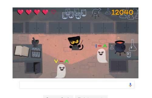 El juego consiste en dibujar formas para aniquilar fantasmas.