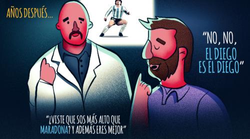 Messi debutó con el Barcelona y se convirtió en uno de los mejores futbolistas del mundo.