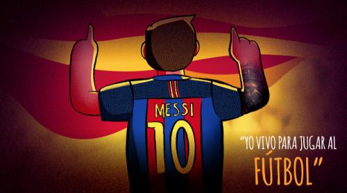 El delantero argentino tiene más de 500 goles anotados con la camisa del Barça.