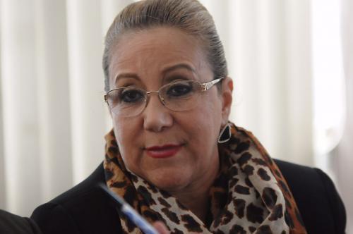 La aún magistrada de la CSJ explicó que está enferma de los nervios por culpa de las requisas en Mariscal Zavala. (Foto: Jesús Alfonso/Soy502)