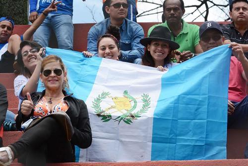 Varios aficionados llegaron a apoyar a los seleccionados Sub-23 al estadio Manuel Felipe Carrera