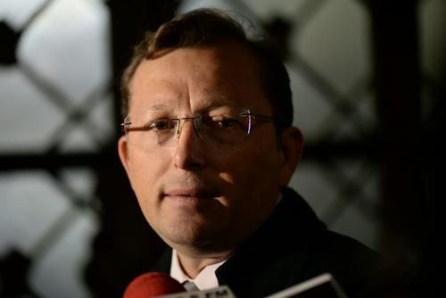 "Heinz Heimann, Portavoz presidencial: ""Yo creo que este tema se ha discutido ampliamente, se ha agotado"". (Foto: Wilder López/Soy502)"