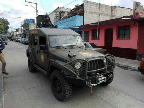 Estos son los Jeeps J8 de Guatemala. (Foto: Archivo/Soy502)