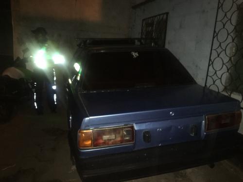 El vehículo fue ubicado y consignado en la noche del sábado. (Foto: Mixco)