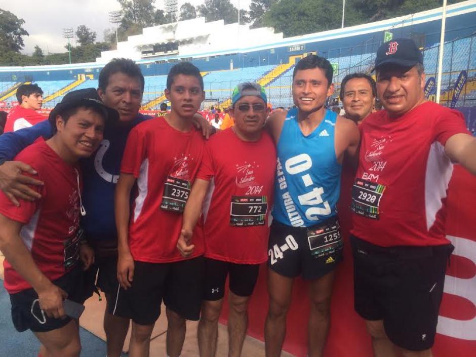 Erick Barrondo anunció que correrá la San Silvestre  2016. (Foto: Soy502)