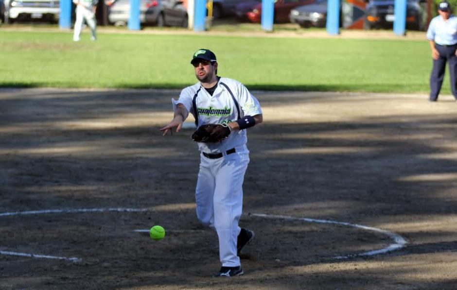 El lanzador nacional, Cesar Sajché, llevó la ruta ganadora para Guatemala y terminó el duelo frente a los canaleros sin hit ni carrera. (Foto: CDAG)