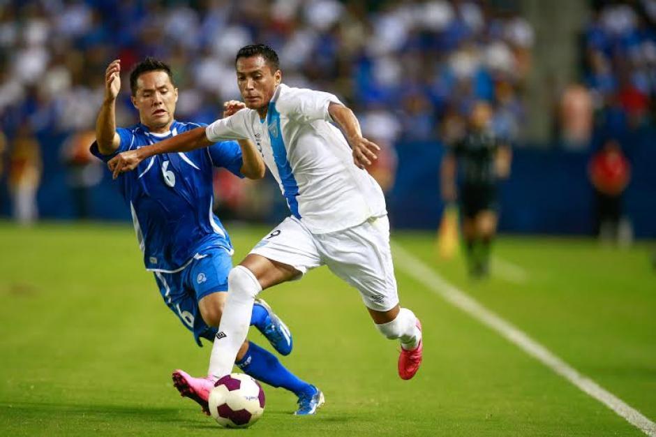 El delantero, Gerson Tinoco, disputa su segundo partido con la selección guatemalteca de fútbol. (Foto: Germán Alegría/Nuestro Diario)