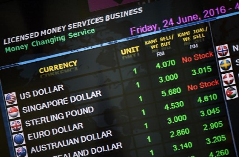 """Luego de los resultados del """"Brexit"""" la economía europea y mundial viven un verdadero viernes negro. (Foto: AFP)"""