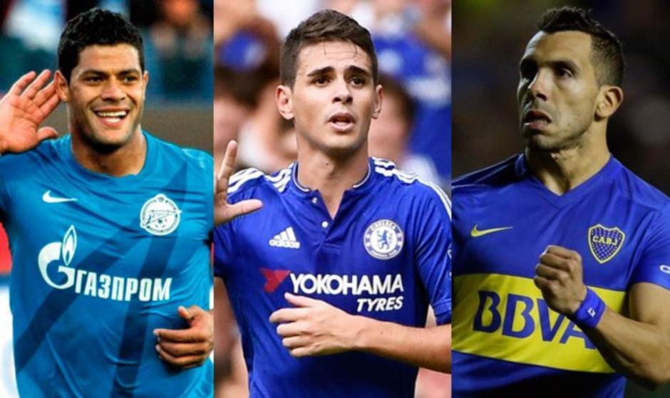 Hulk, Oscar y Tevez son los fichajes de la Súper Liga China. (Foto: Twitter)