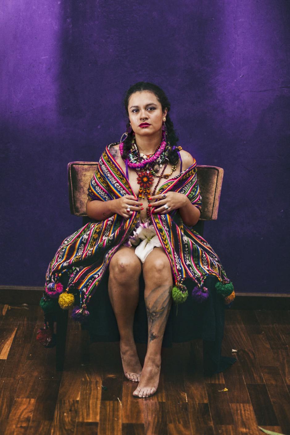 La rapera va a iniciar una gira por españa. (Foto: rebecalane.bandcamp.com)