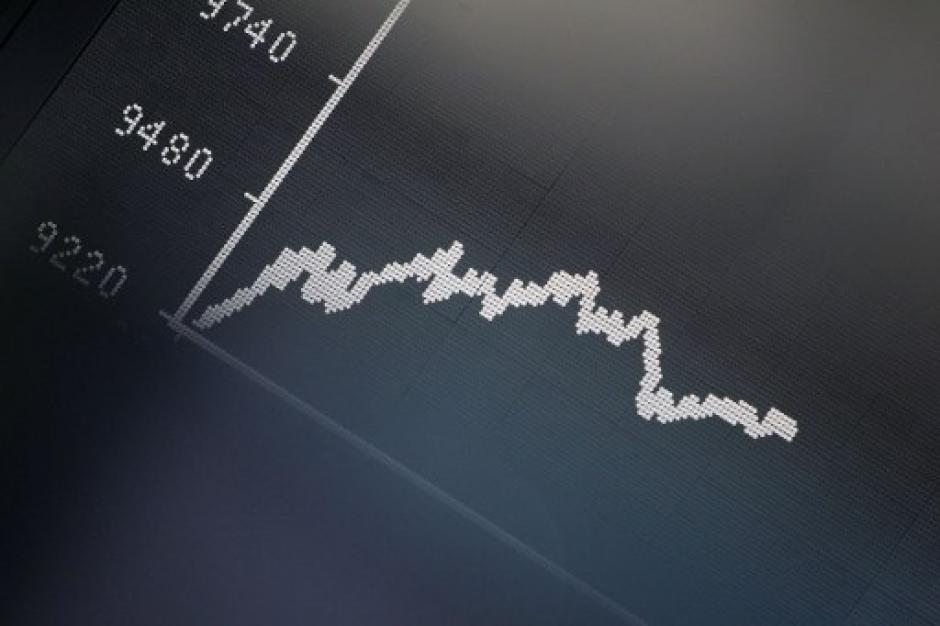 Se prevé que el cierre de las bolsas europeas sea hacia la baja. (Foto: AFP)