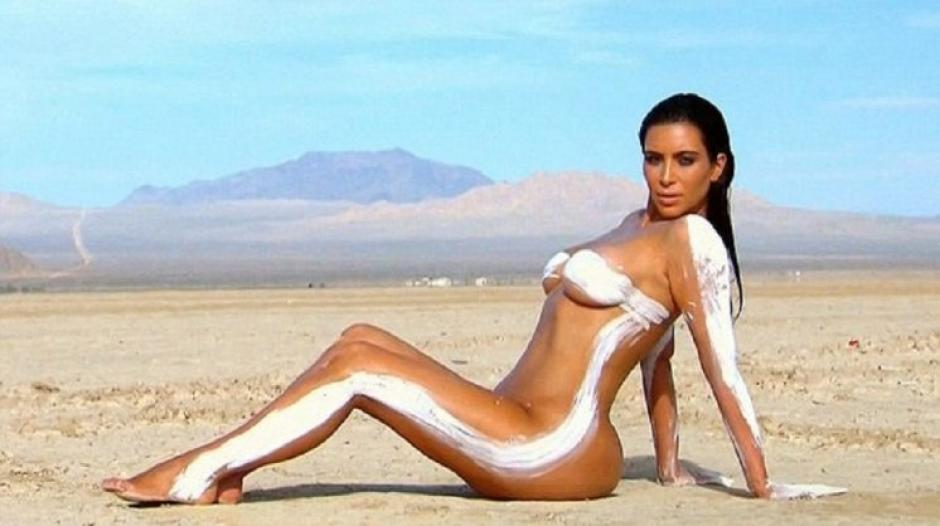 No es la primera vez que se muestra al desnudo en una fotografía.
