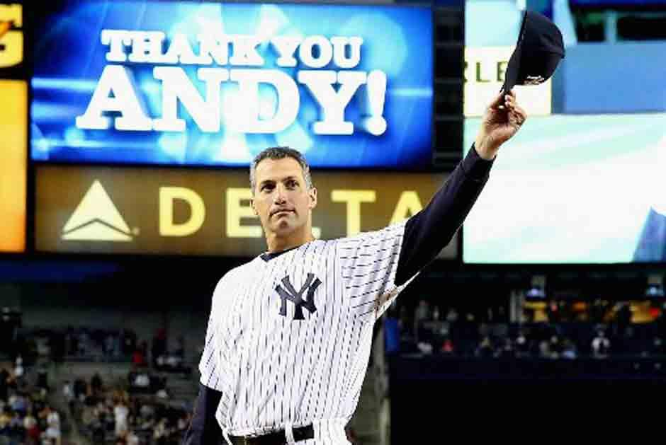 Andy Pettitte se despidió con los Yankees en Houston. (AFP)