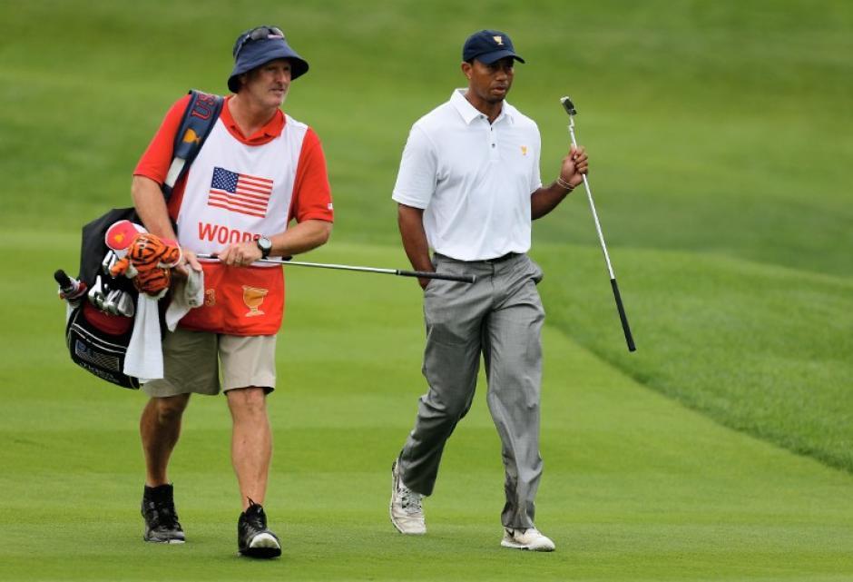 Tiger Woods integró el equipo de golf de Estados Unidos que ganó la Copa Presidente 2013. (AFP)