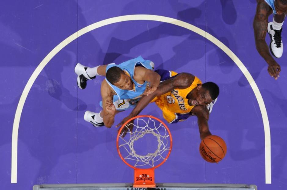 Los Nuggets superaron a los Lakers en juegos de pretemporada. (Andrew D. Bemstein/AFP)