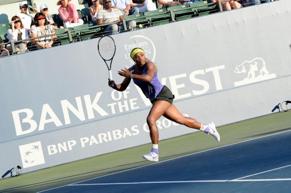 Serena Williams es actualmente la indiscutible número uno mundial de la WTA