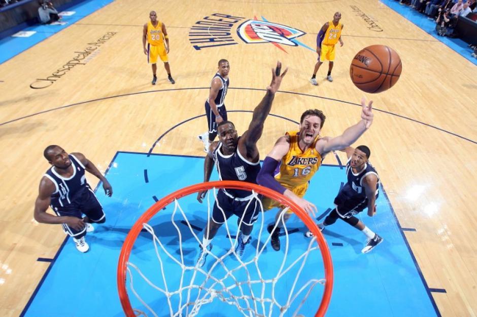 Pau Gasol, Lakers, NBA, contrato