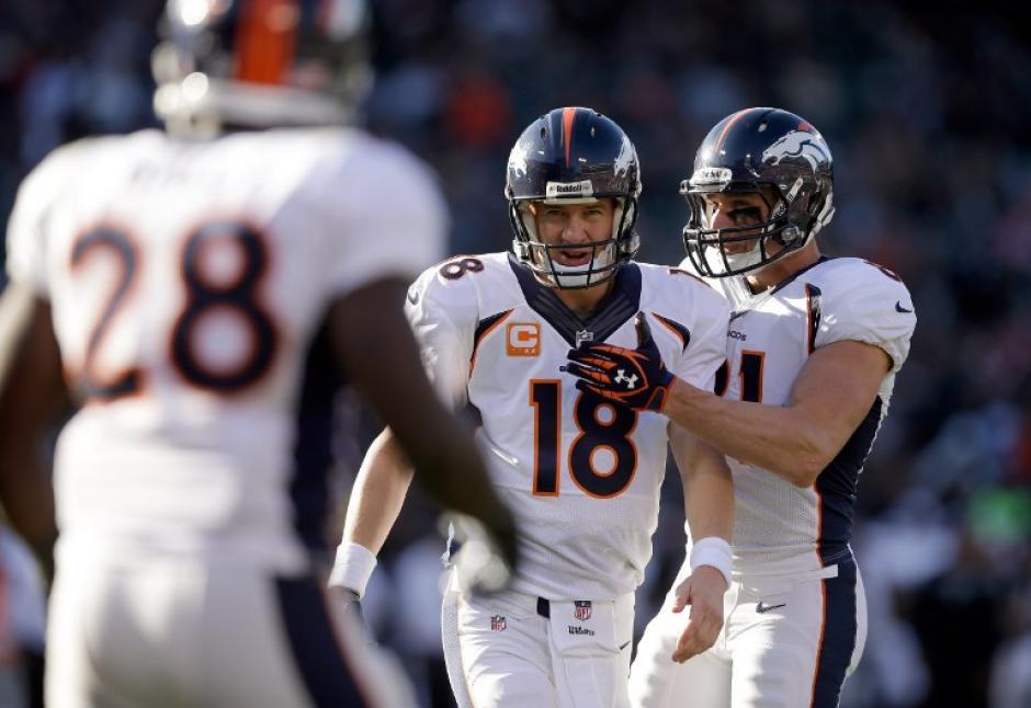 Los Broncos de Denver, guiados por Peyton Manning, jugarán ante el peor clasificado de la AFC que supere la ronda de comodines