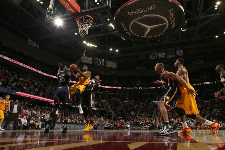 Los Pacers de Indiana, superaron a los Cavaliers de Cleveland. (AFP)