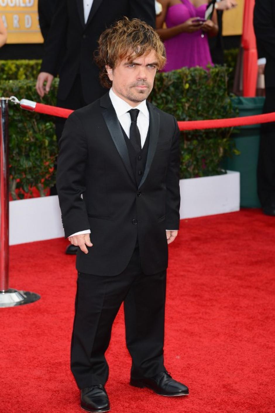Peter Dinklage de Game of Thrones está nominado a un premio. (AFP)