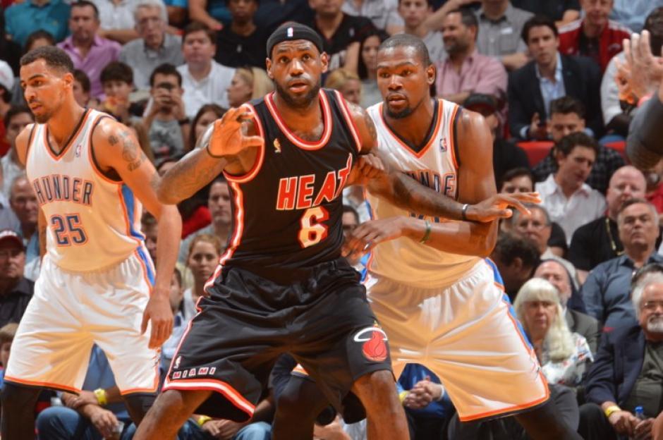 Heat de Miami, Thunder de Oaklahoma, NBA