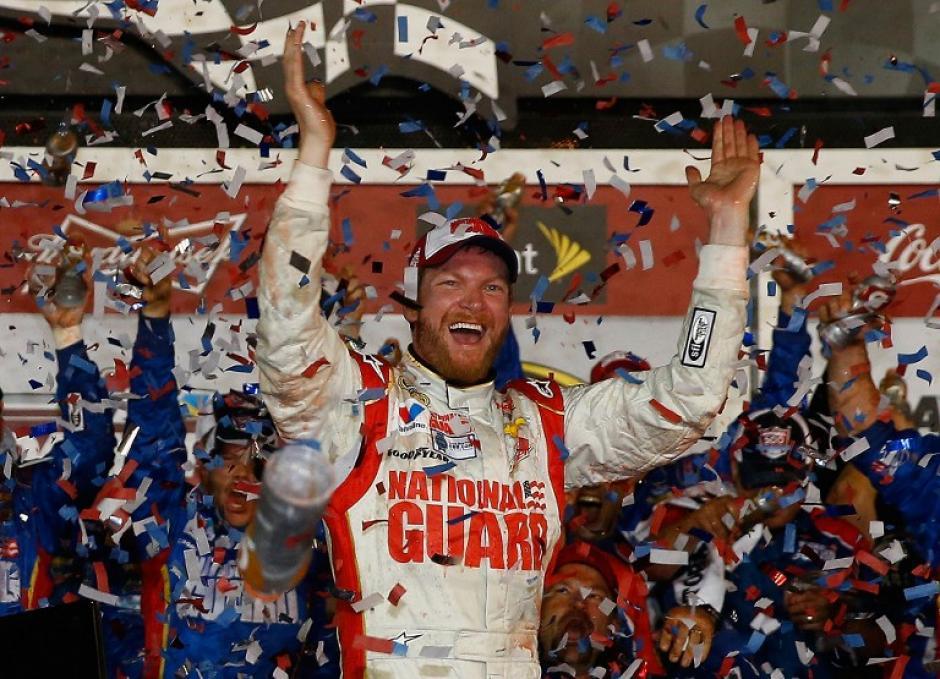 El piloto estadounidense Earnhardt Jr. gana la Daytona 500 edición 2014. (Foto: AFP)