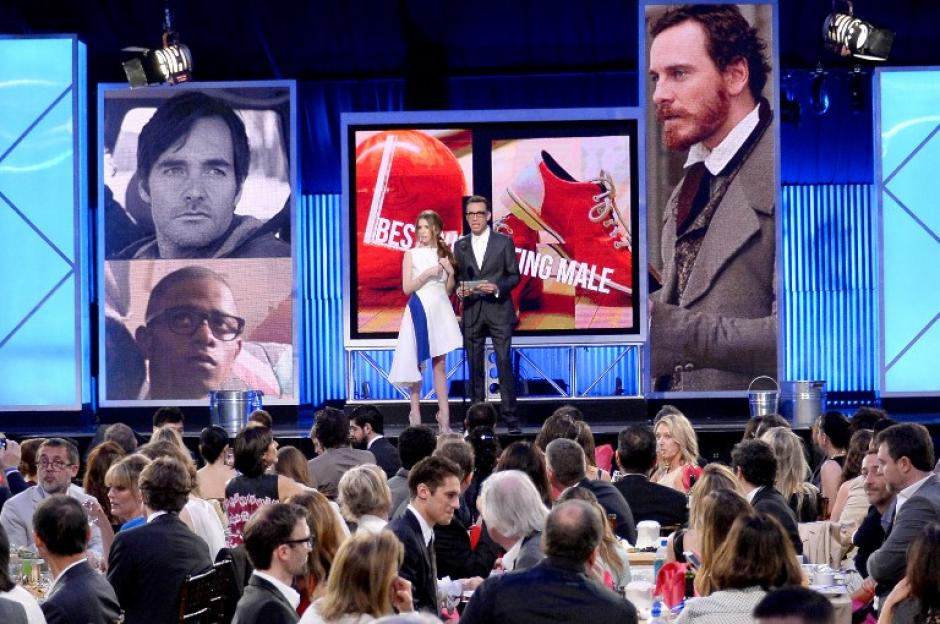 El reparto de Fruitvale Station recibió el premio a mejor ópera prima. (Foto: AFP)