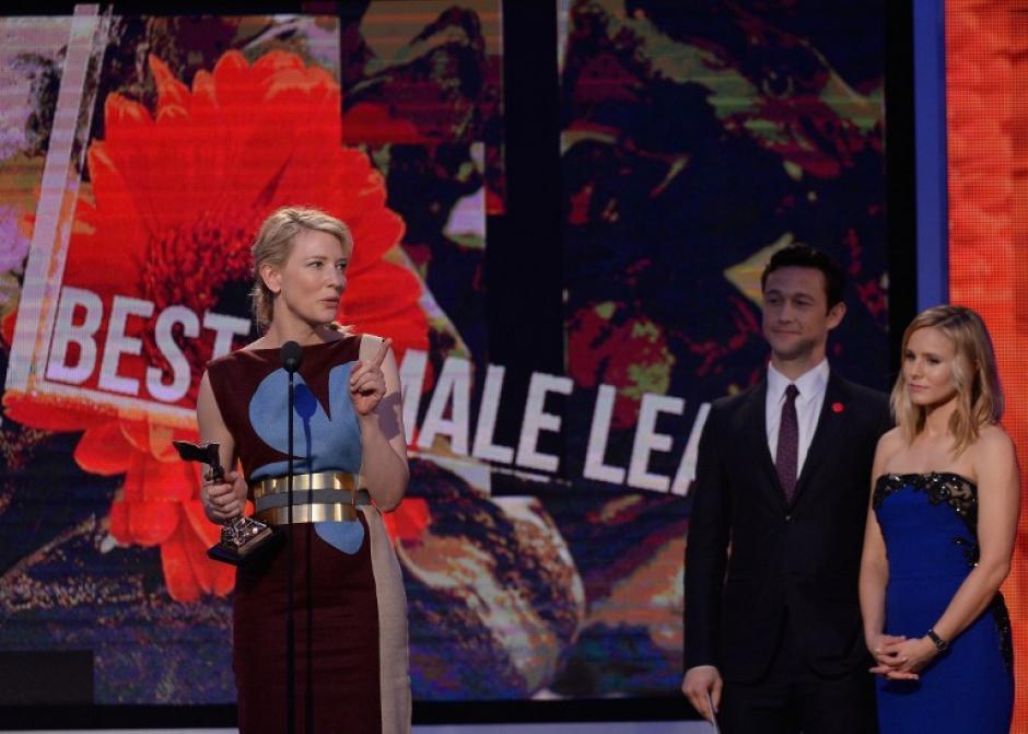 """Cate Blanchett recibió el premio a mejor actriz por """"Blue Jasmine"""" (Foto: AFP)"""