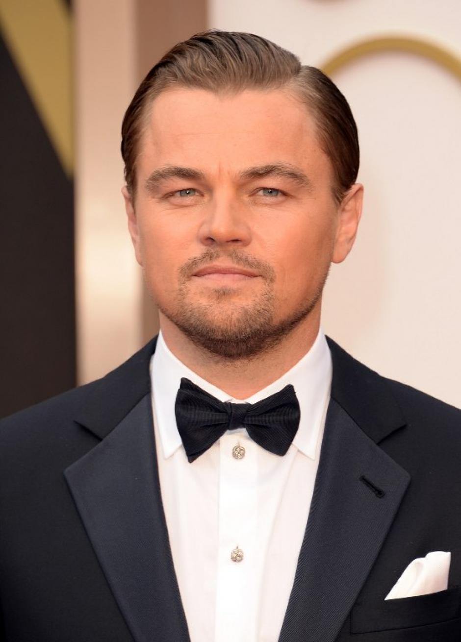 """Leonardo Di Caprio está nominado al premio de mejor actor por la película """"The Wolf of Wallstreet"""". (Foto: AFP)"""
