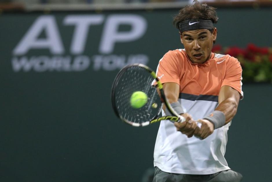 Nadal sigue como el número uno del escalafón mundial de la ATP, pero perdió ventaja tras caer eliminado en el Indian Wells