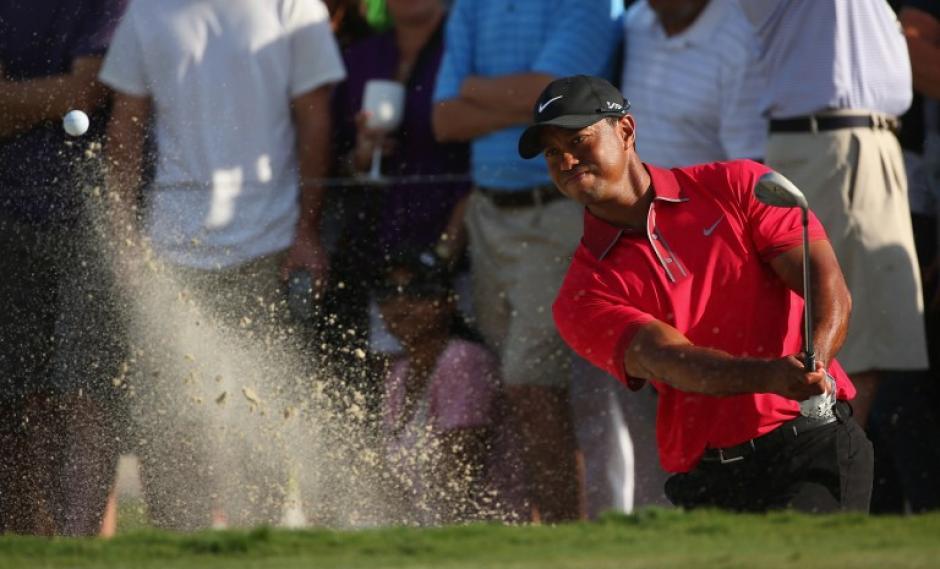 Tiger Woods quedó fuera de la clasificación final del Cadillas Championship de Golf