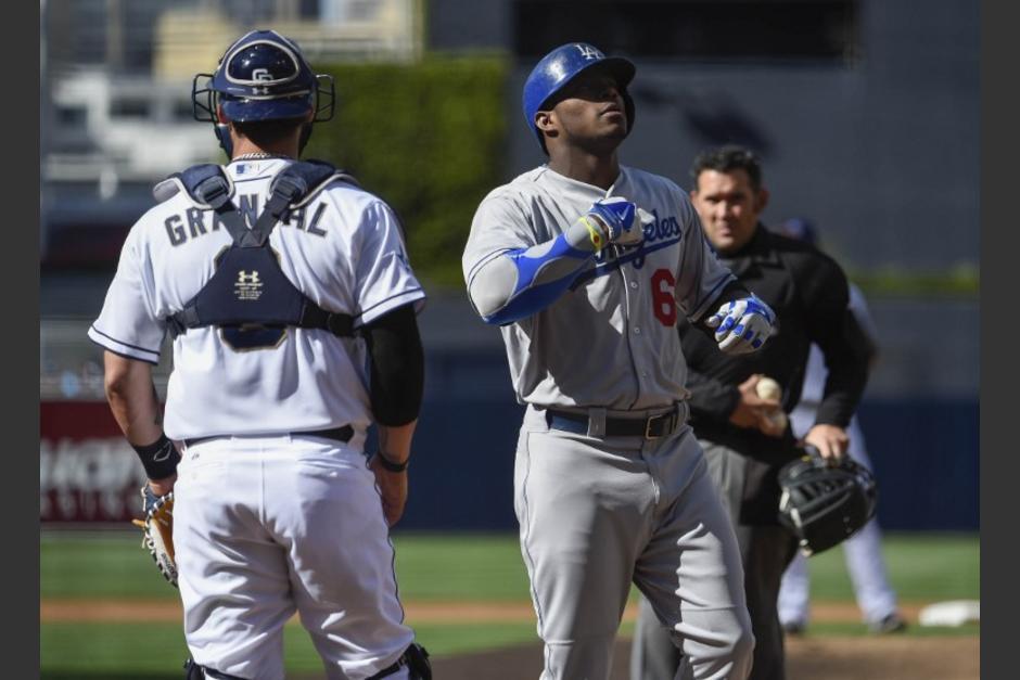 Los Padres de San Diego cayeron ante los Dodgers de Los Ángeles