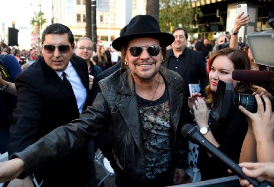 """""""Es un honor para la banda contar con una estrella"""", afirmó Fher. (FotoAFP)"""