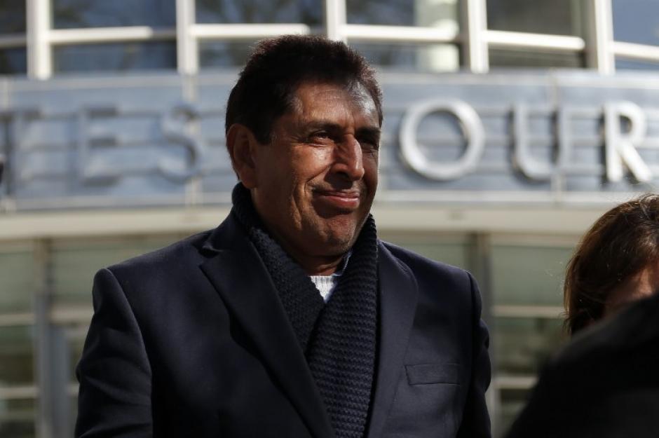 Brayan Jiménez tendrá que pagar una fianza de 1.5 millones de dólares, y adelantó un pago en efectivo de 75 mil (Foto: AFP)