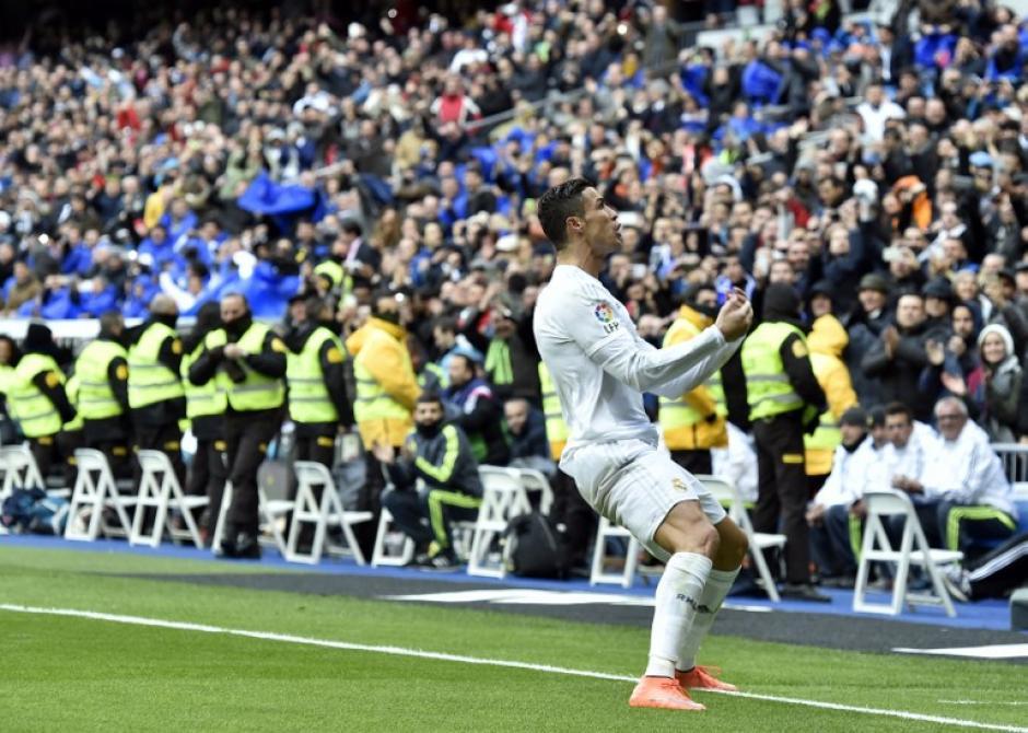 Magistral actuación de Cristiano Ronaldo quien anotó cuatro goles frente a Celta. (Foto: AFP)