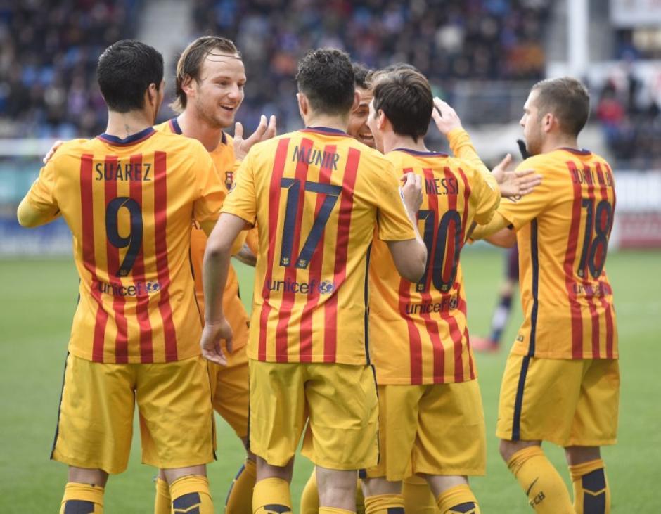 Barcelona se encamina al título en la Liga de España, está imparable, ya suma casi cinco meses sin perder. (Foto: AFP)