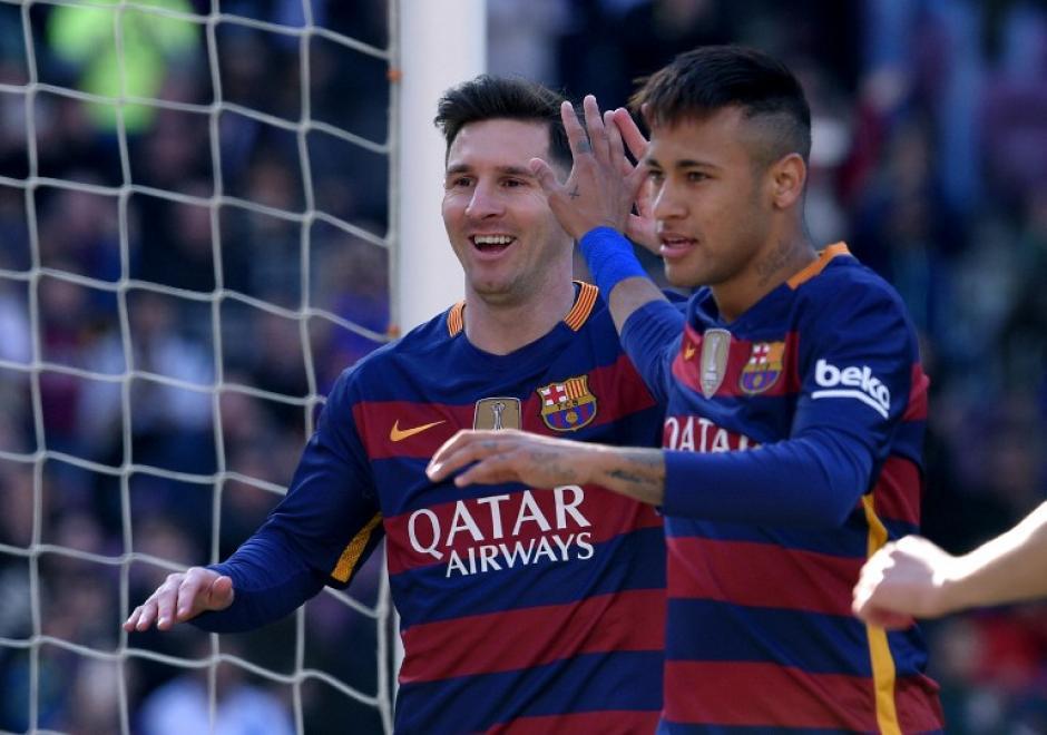 Lionel Messi dio un festival de asistencias (tres pases de gol) contra Getafe. (Foto: AFP)