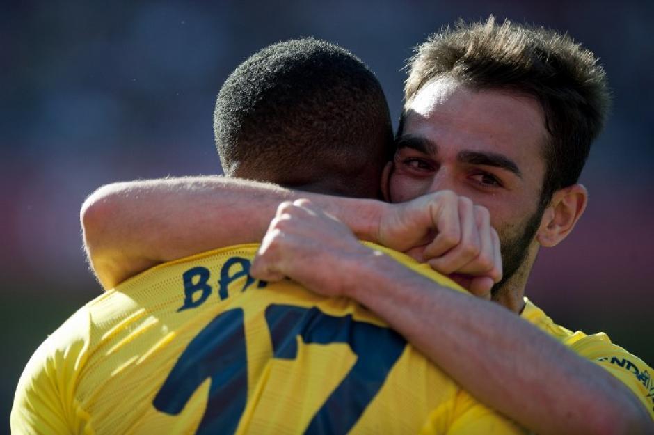 El Villarreal le ganó la serie al Leverkusen. (Foto: AFP)