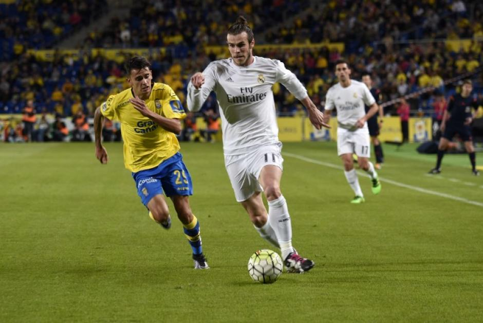 Gareth Bale volvió a ser titular en la ofensiva de Real Madrid. (Foto: AFP)