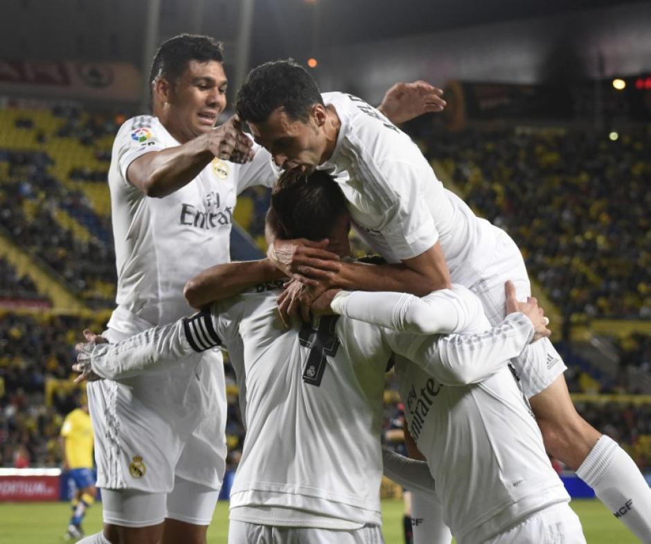 Real Madrid festejó en el último suspiro del partido y derrotó por la mínima a Las Palmas. (Foto: AFP)