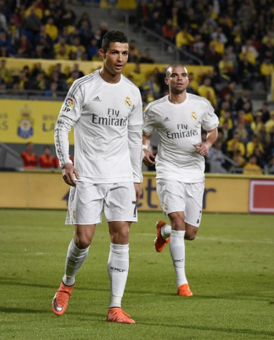 Cristiano Ronaldo no marcó, pero generó varias opciones de gol, con remates a portería. (Foto: AFP)