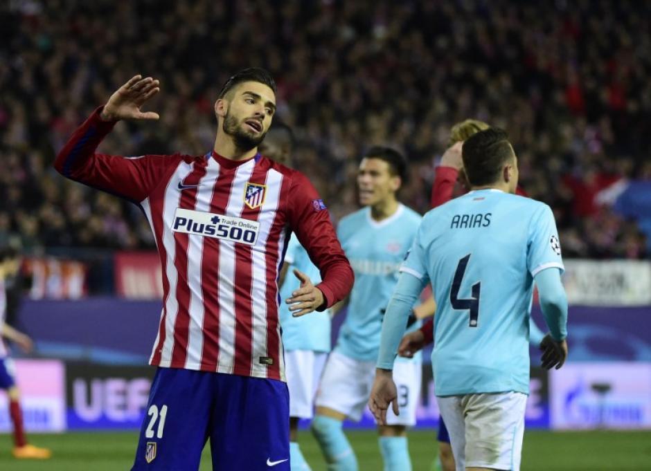 Yannick Ferreira Carrasco del Atlético de Madrid. (Foto: AFP)