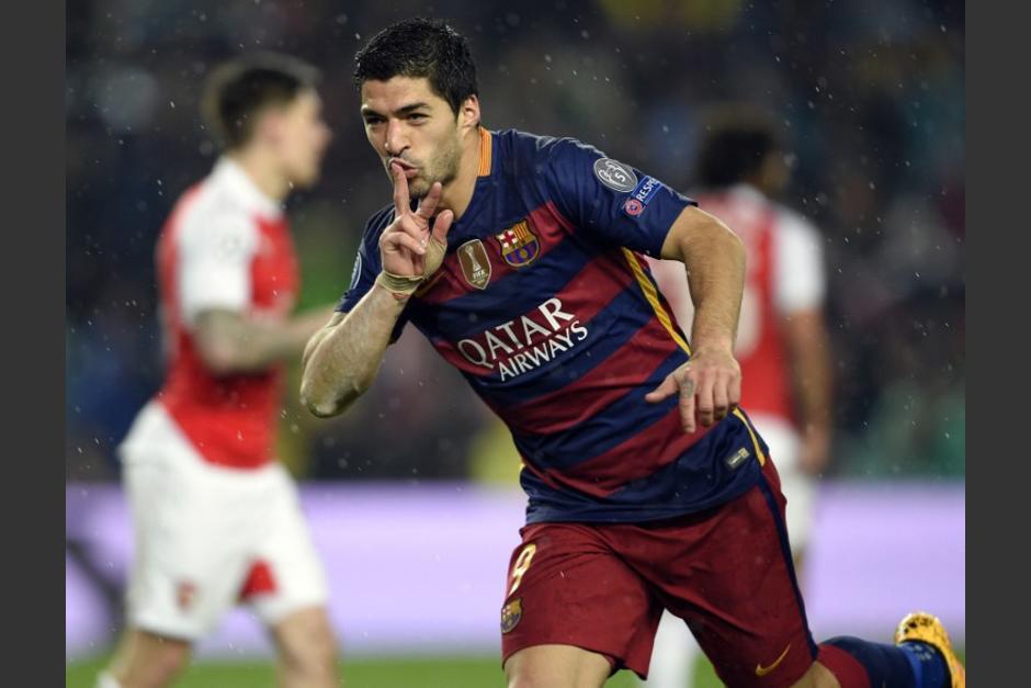 Suárez fue declarado como el mejor delantero a nivel mundial del 2016.