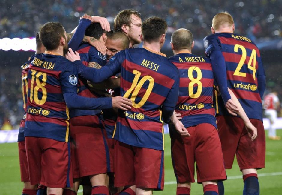El Barcelona ya está en cuartos de final de la Champions y prácticamente se quedará con la Liga BBVA. (Foto: AFP)